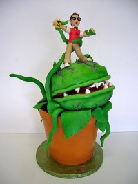 Little Shop of Horrors Cake - Neatorama