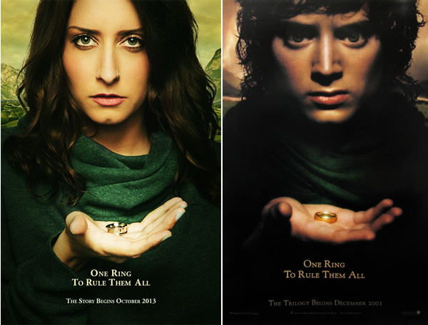 Movie Posters Are Perfect For A Wedding Neatorama