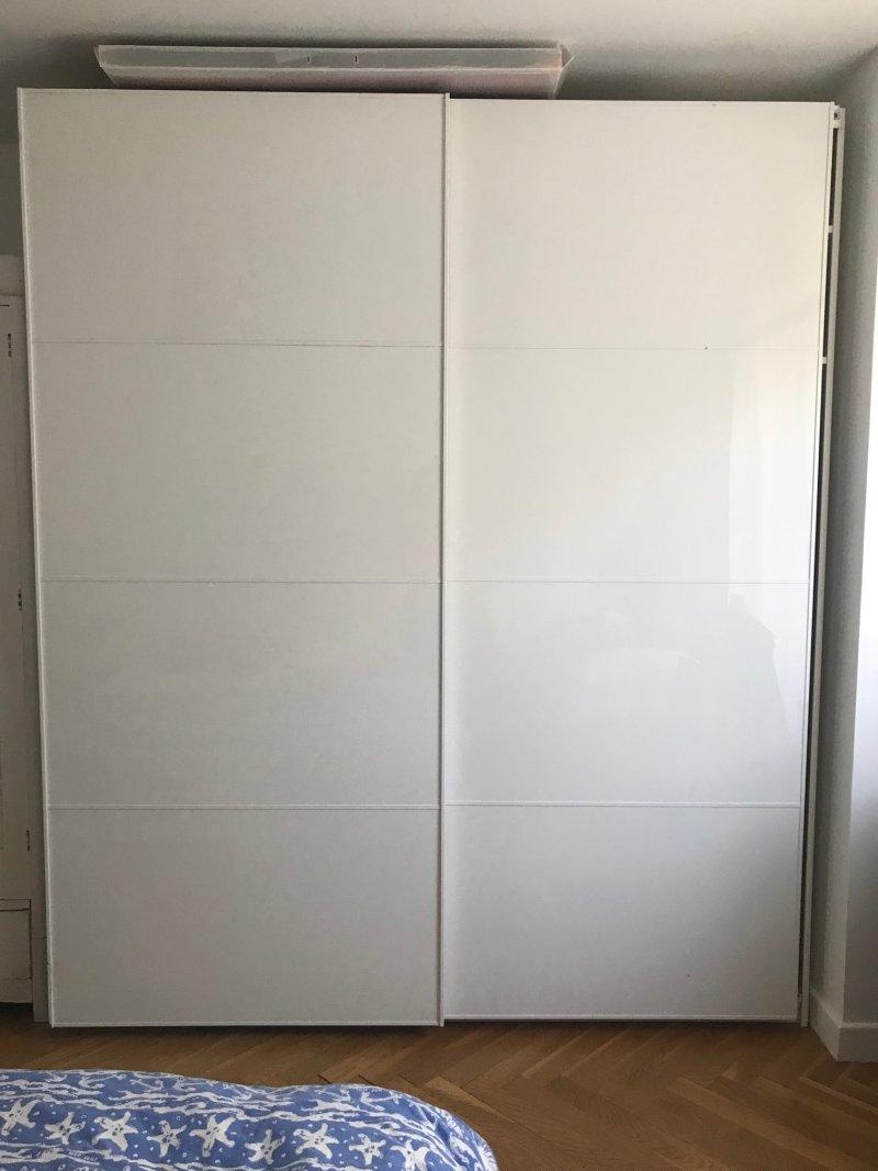 2 portes coulissantes dressing ikea 200