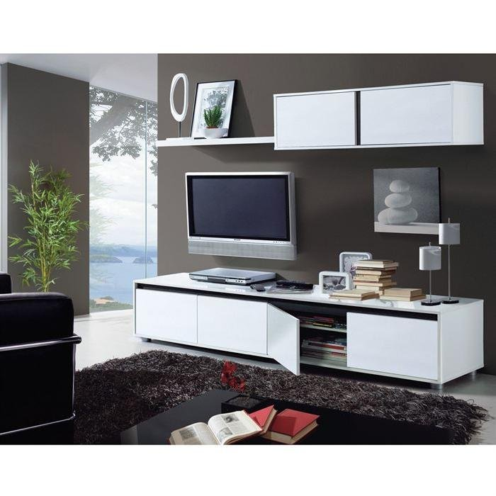 montage meuble tv mural aura style
