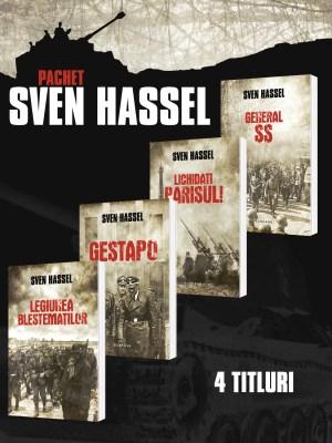 Pachet Sven Hassel 4 vol.