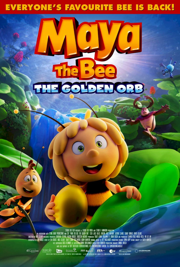 Adventure: Maya the Bee: The Golden Orb (2021) [Download Full Movie]