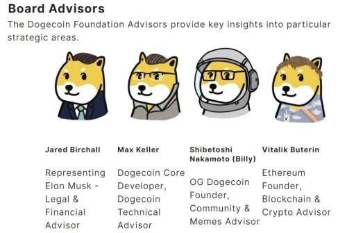 La Fundación Dogecoin está de vuelta con el asesor de Elon Musk y Vitalik Buterin de Ethereum