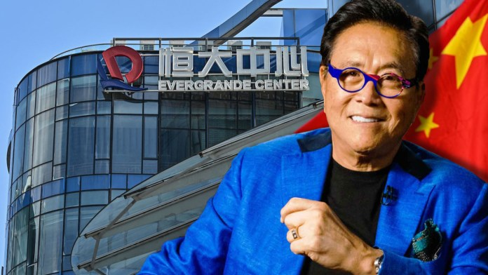 Rich Dad Poor Dad Author Calls Evergrande a 'House of Cards' While China's Officials Prep for Firm's Demise