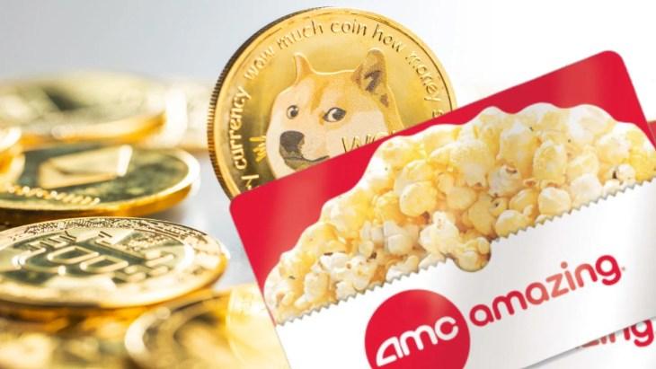 CEO da AMC diz que 'grandes notícias' para fãs de Dogecoin à medida que a cadeia de cinemas começa a aceitar pagamentos cripto para cartões de presente