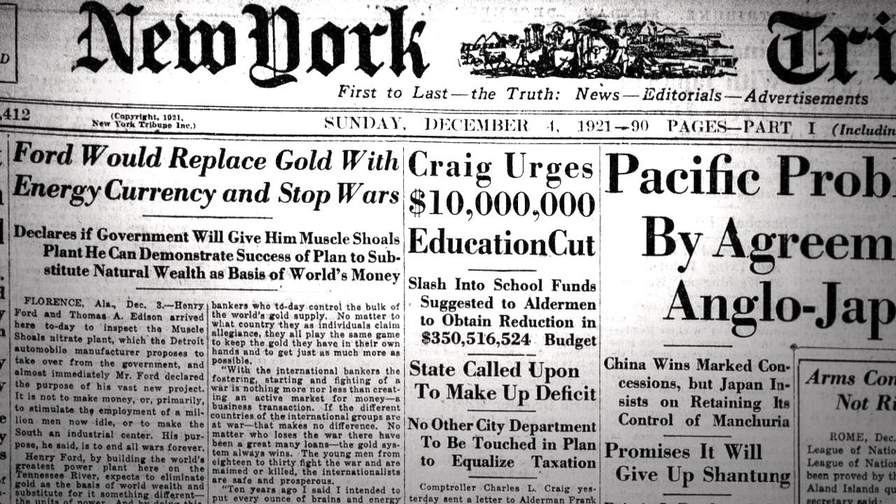 Cómo Henry Ford imaginó Bitcoin hace 100 años: una