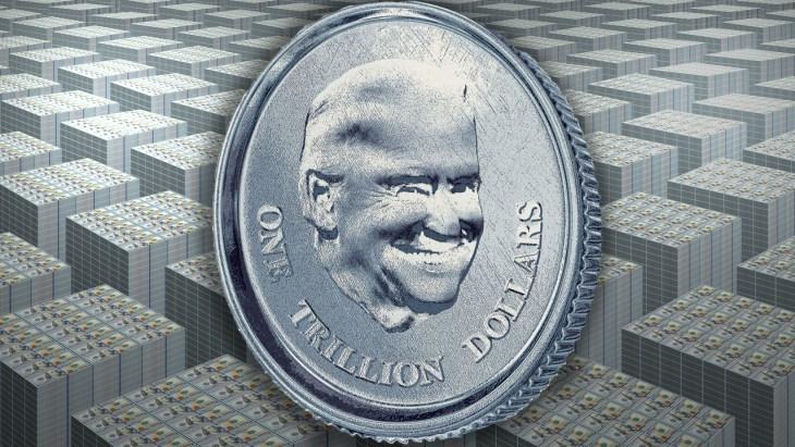 Legisladores dos EUA flutuam a ideia de minerar uma moeda de platina de trilhões de dólares para evitar crise da dívida soberana