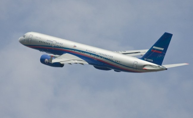 Russia Is Against Us Withdrawal From Open Skies Treaty