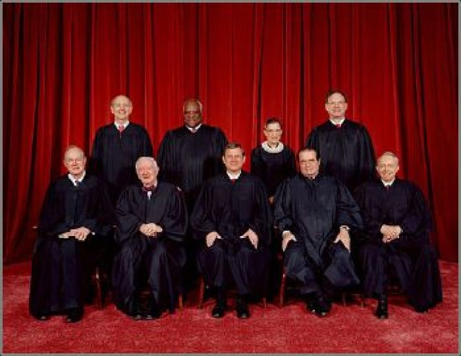 Image result for Picture of new Supreme court of USA