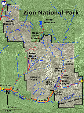 Zion National Park New World Encyclopedia