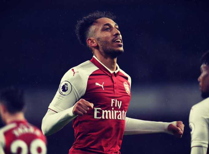Aubameyang Twitter Arsenal