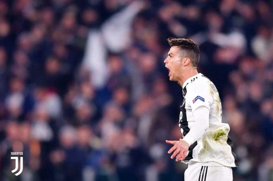 Ronaldo Twitter uff Juve