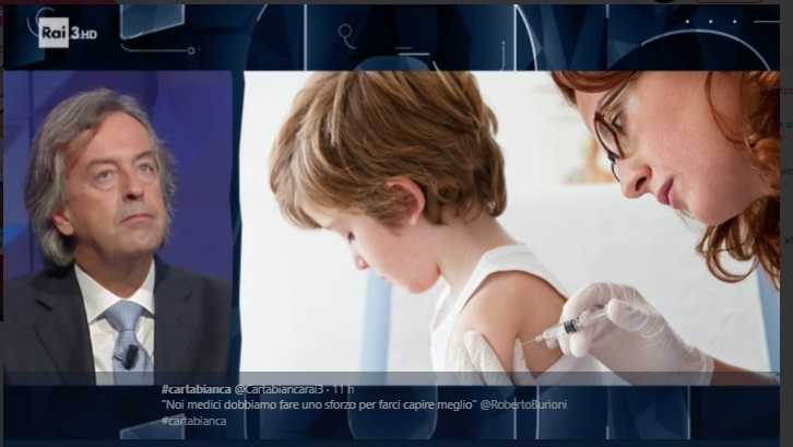 Roberto Burioni Debunka Le Bufale Su Vaccini E Omeopatia A
