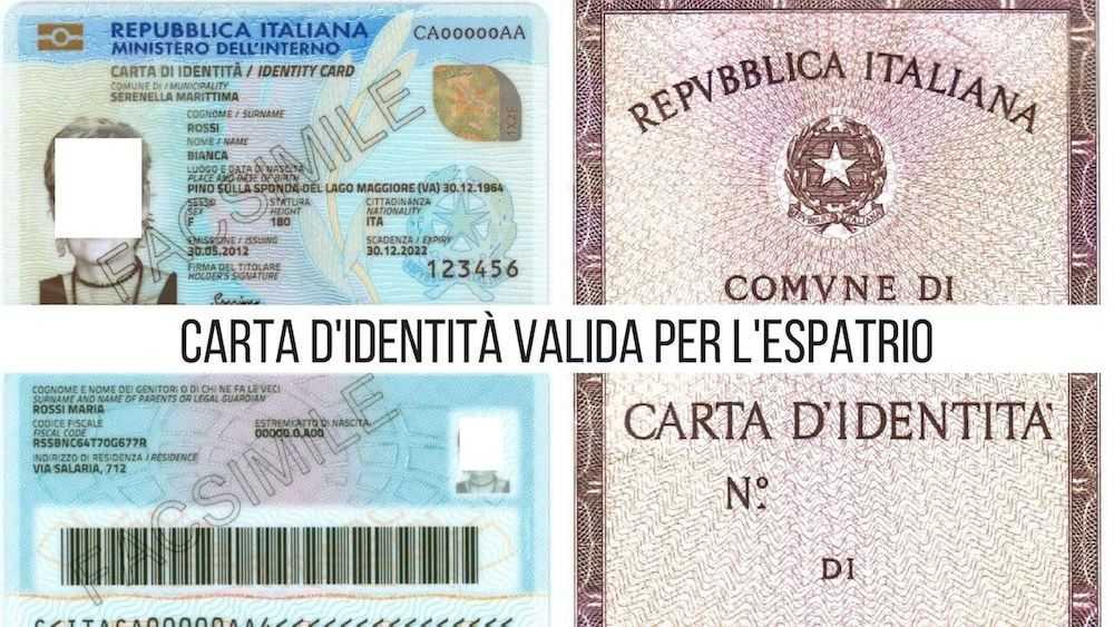 Carta Didentità Per Lespatrio Guida Completa Vologratisorg