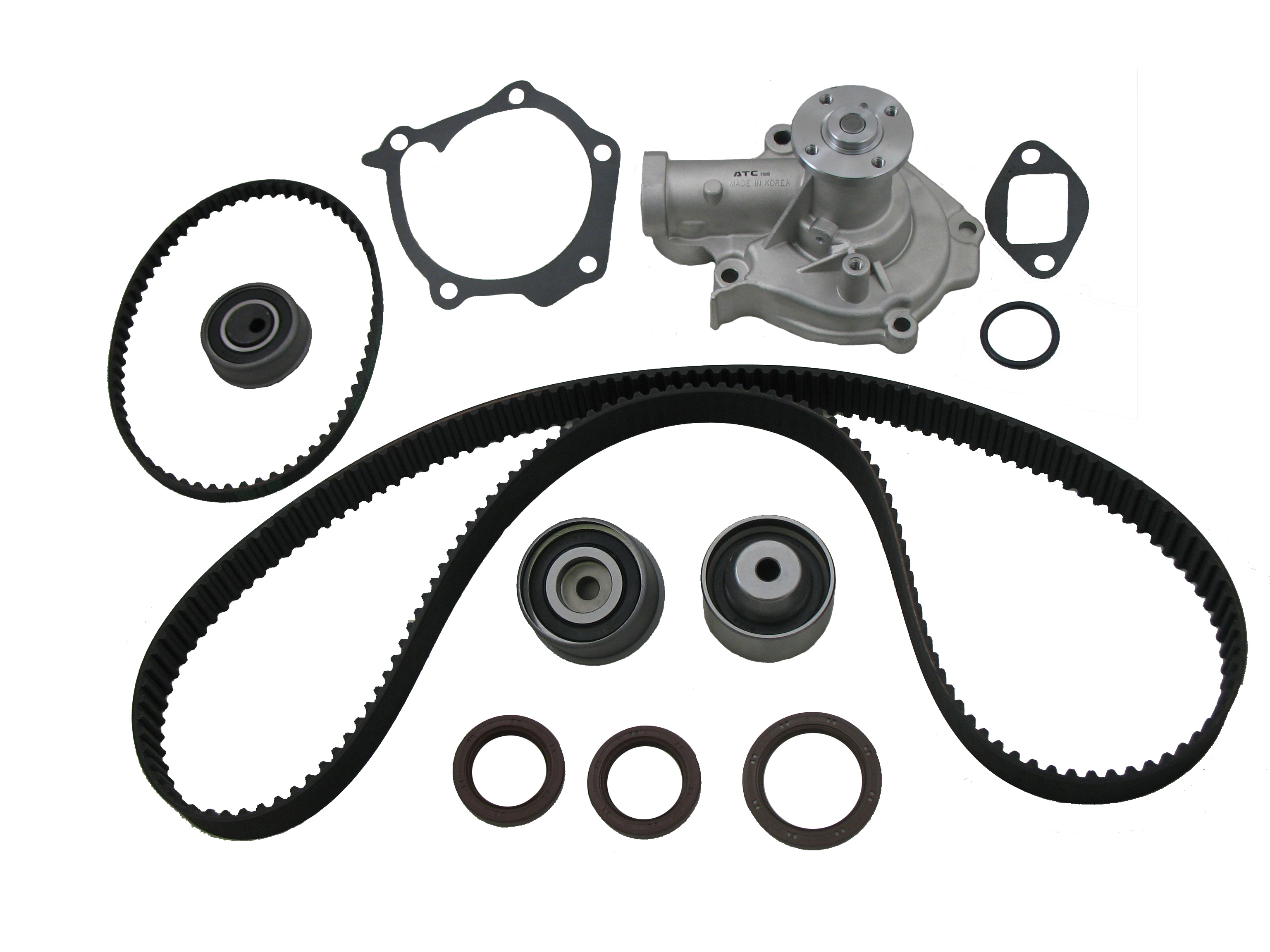 Timing Belt Water Pump Kit K249-38001 fits Hyundai Santa