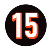 Bengals commemorative patch in memory of Chris Henry. Source: Cincinnati Bengals