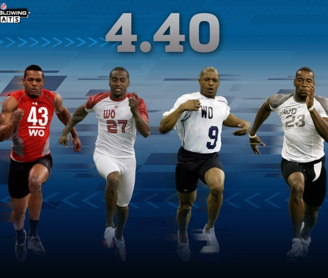 Mind Blowing Stats For  Nfl Scouting Combine Nfl Com