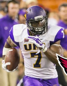 Johnson figures to move up the arizona depth chart quickly but it doesn   also top fantasy rookies nfl rh