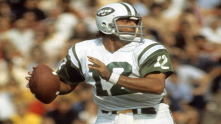 Namath Throwing style  NFL Videos