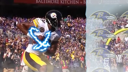 JuJu SmithSchuster celebrates with his best Dragon Ball