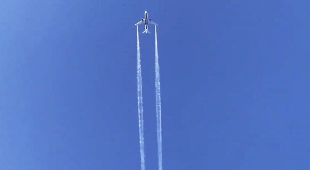 Airplane dumps kerosene above playground