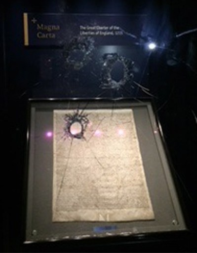 Brit found guilty of failed attempt to steal Magna Carta