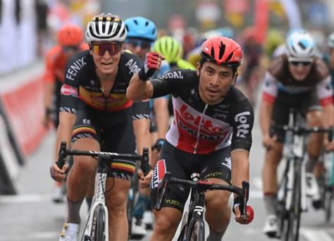 Caleb Ewan é o mais rápido na etapa de abertura do Tour da Valônia