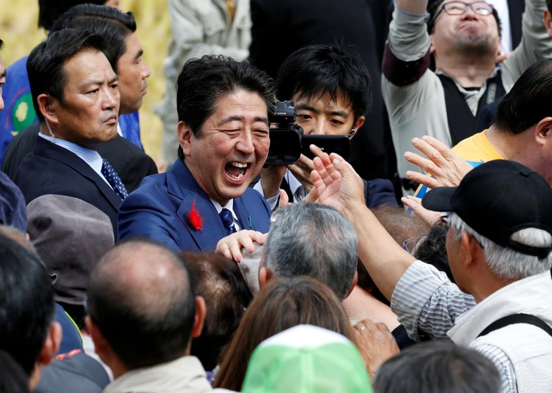 Japanse premier kondigt officieel ontslag aan omwille van gezondheidsredenen