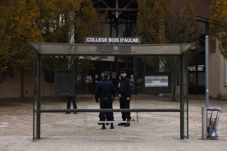 Perpetrator of decapitation of teacher in Paris is 18-year-old Chechen, another five people arrested