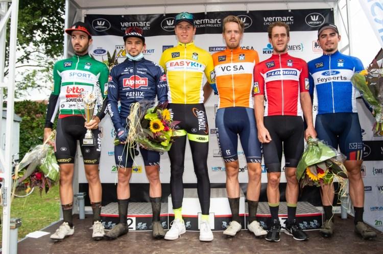 David van der Poel wint ingekorte slotetappe Ronde van Vlaams-Brabant, Tsjech Tomas Kopecky pakt eindzege