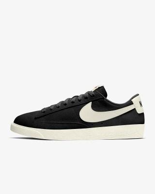 Nike Blazer Low Suede 'Black / Sail' .97 Free Shipping