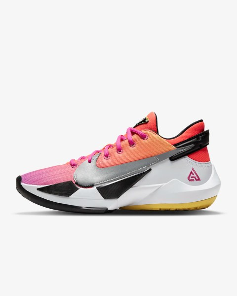 Nike Zoom Freak 2 'Bright Crimson / Fire Pink' .97 Free Shipping