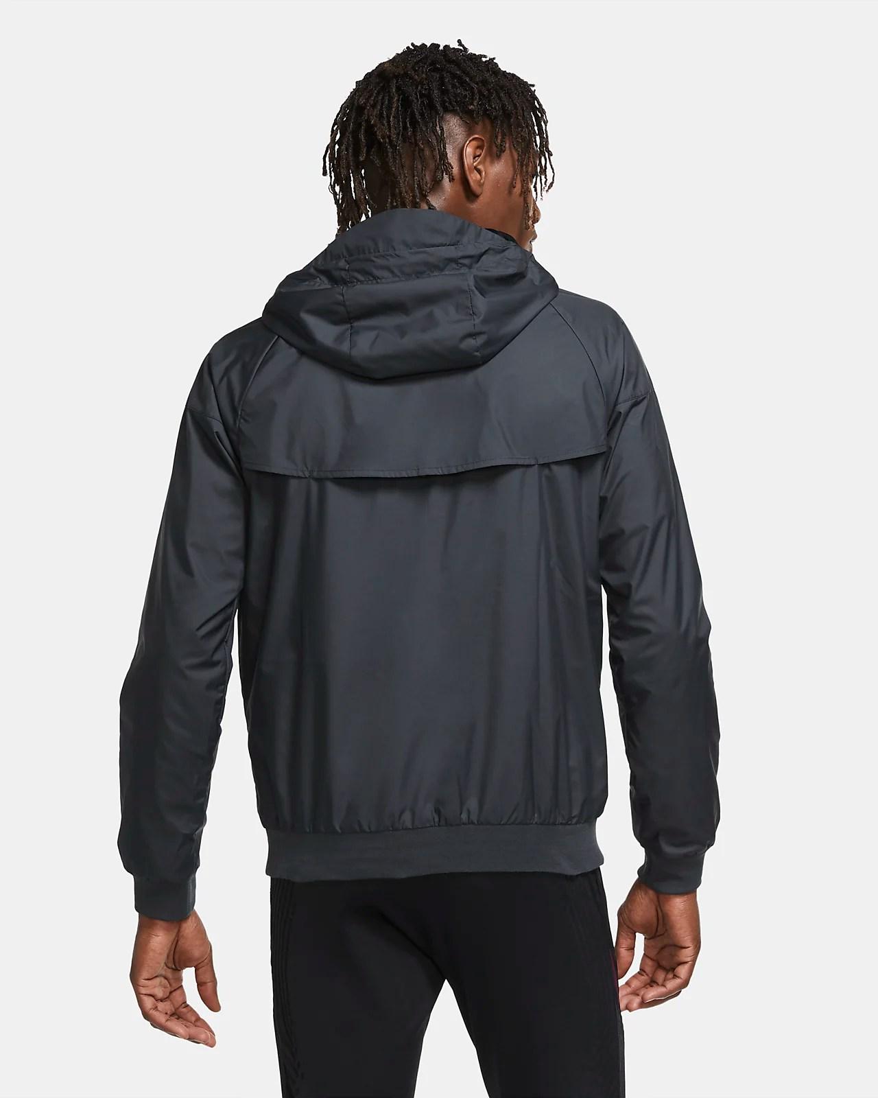 الأوسط نفخة البترول psg windrunner puffer jacket