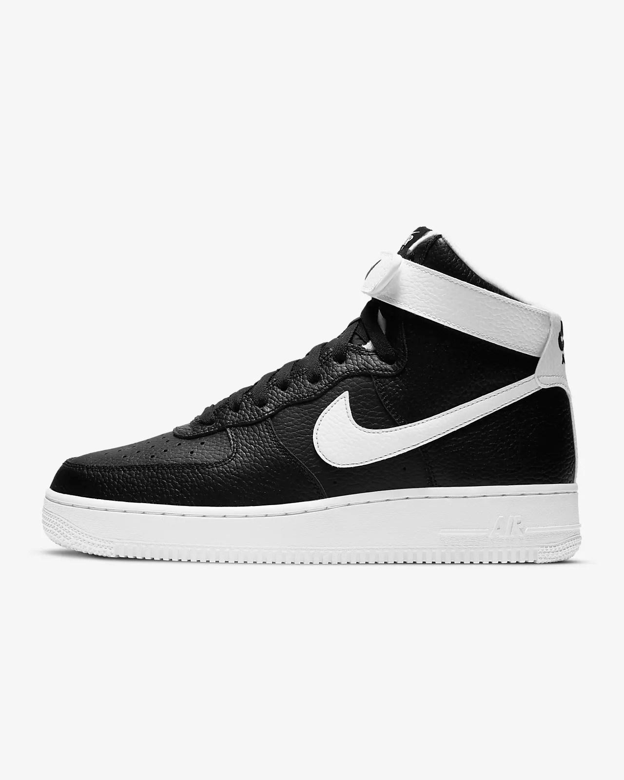 Nike Air Force 1 '07 High 'Black / White'