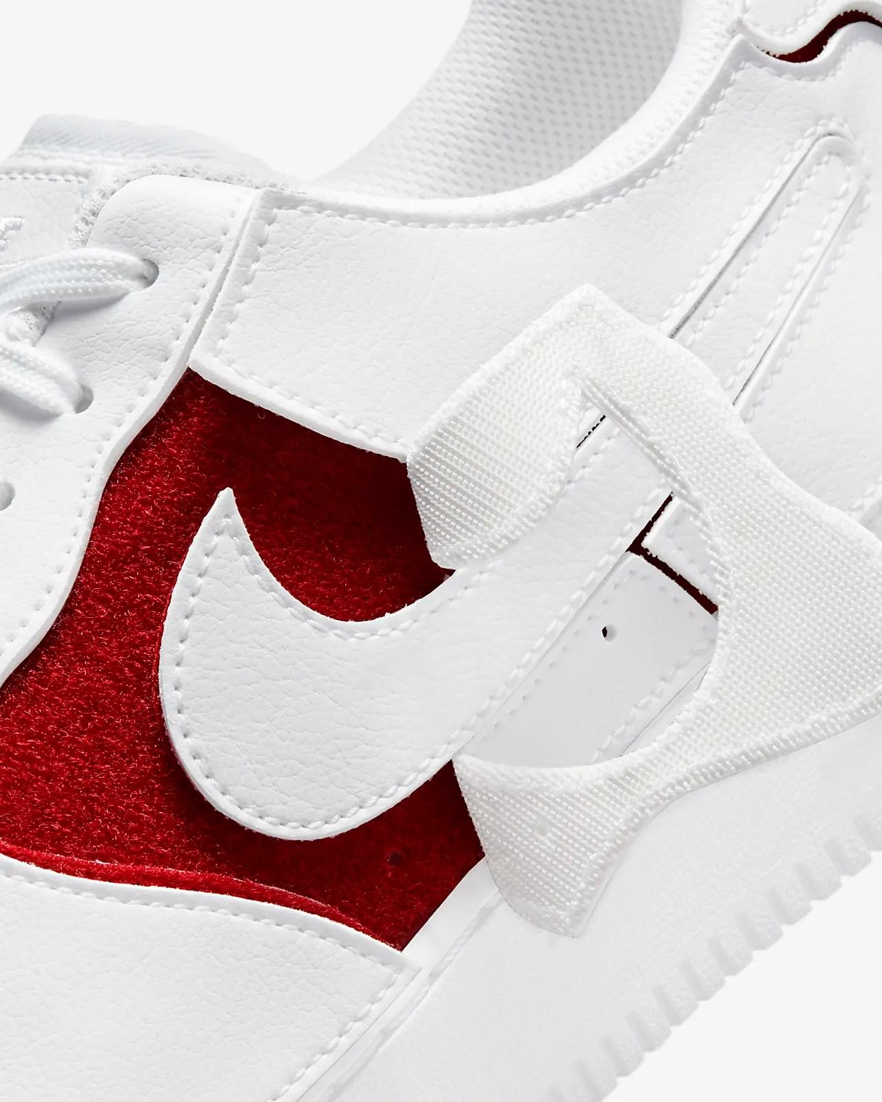 Nike AF 1/1 Pull-Apart 'White / Varsity Red'