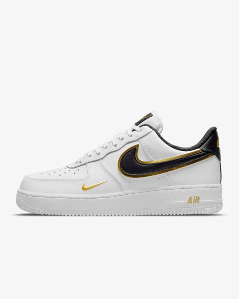 Nike Air Force 1 '07 LV8 Swoosh 'Metallic Gold'