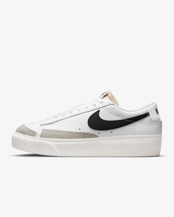 Women's Nike Blazer Low Platform 'White / Black'