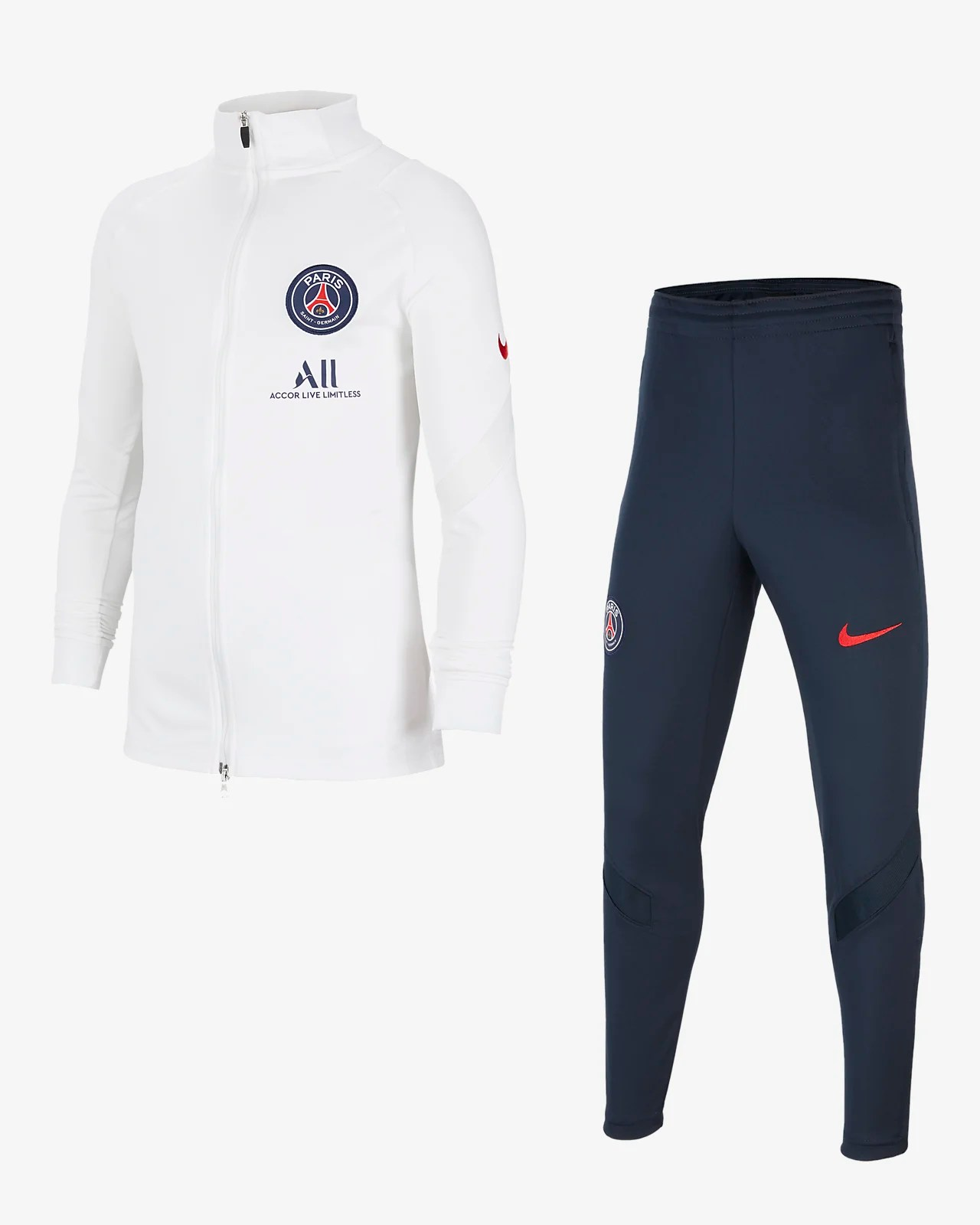 paris saint germain strike fussball trainingsanzug fur altere kinder