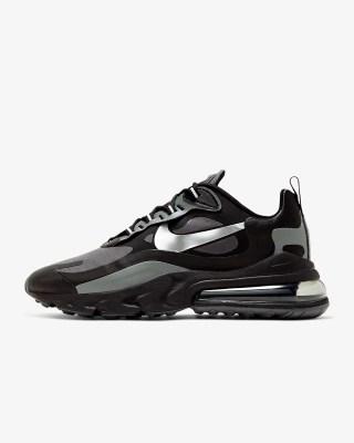 Nike Air Max 270 React Winter 'Black / Silver' .97 Free Shipping