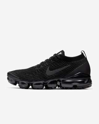 Women's Nike Air VaporMax Flyknit 3 'Black / Anthracite' 0.00 Free Shipping