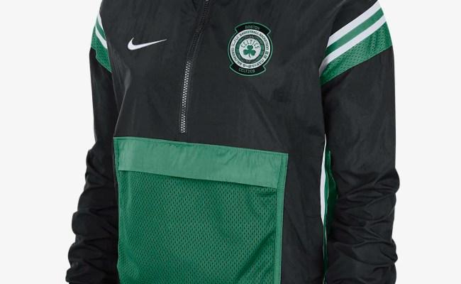 Celtics Courtside Women S Nike Nba Tracksuit Jacket Nike