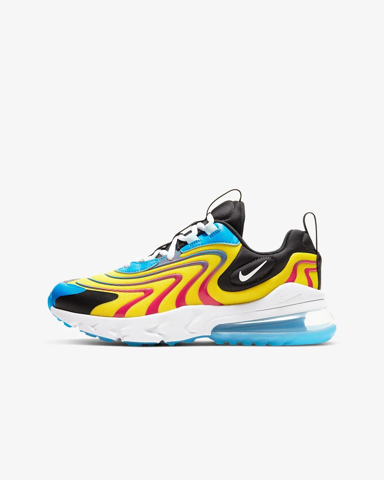Nike Air Max 270 React ENG 大童鞋款. Nike TW