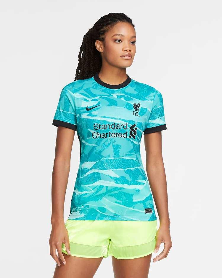 Liverpool FC 2020/21 Stadium Away Women's Soccer Jersey ...