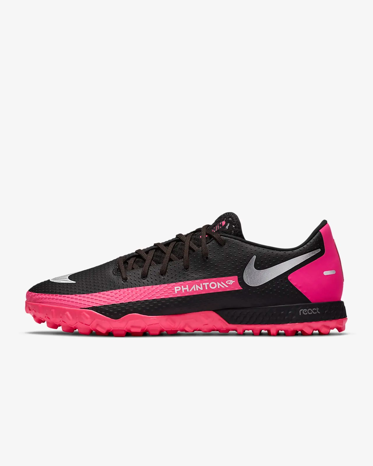 Nike React Phantom GT Pro TF 人工短草草皮足球鞋。Nike TW