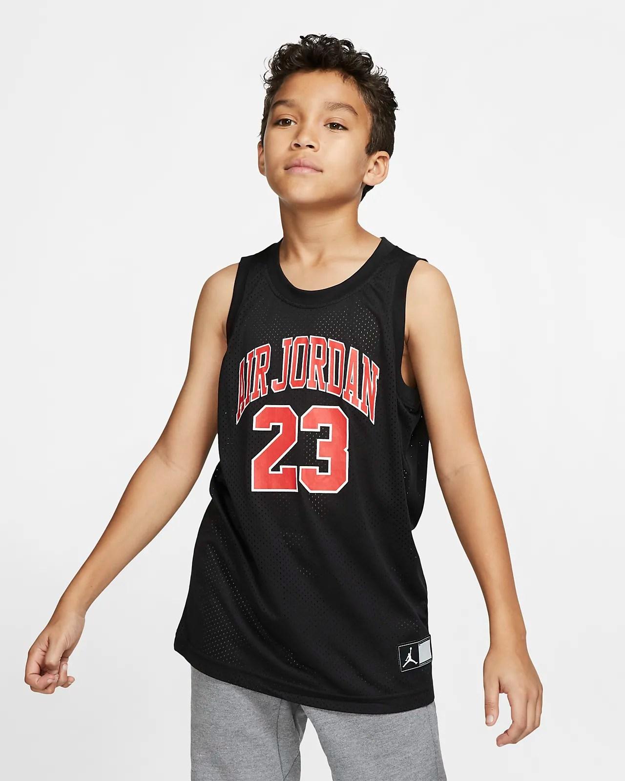 Air Jordan Dri-FIT 大童(男孩)球衣-耐克(Nike)中國官網