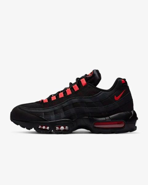 Nike Air Max 95 'Black / Laser Crimson'