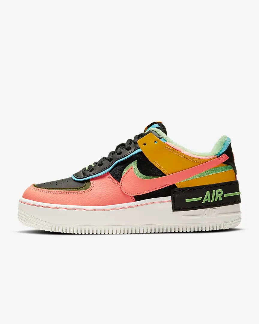 Women's Nike Air Force 1 Shadow 'Black / Arctic Pink'