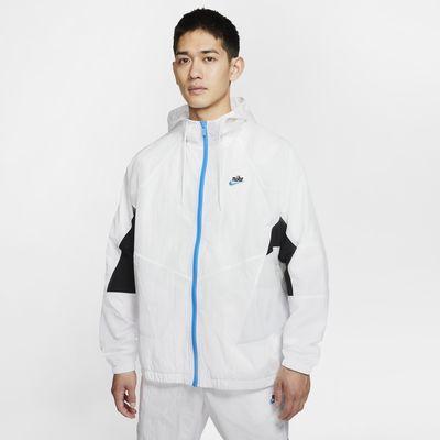 Nike Sportswear Heritage Windrunner 男款梭織外套。Nike TW