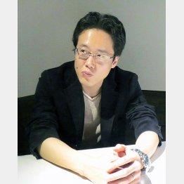 京都精華大専任講師の白井聡氏(C)日刊ゲンダイ