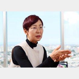 「安倍政権には我慢ならない」と上野千鶴子氏(C)日刊ゲンダイ